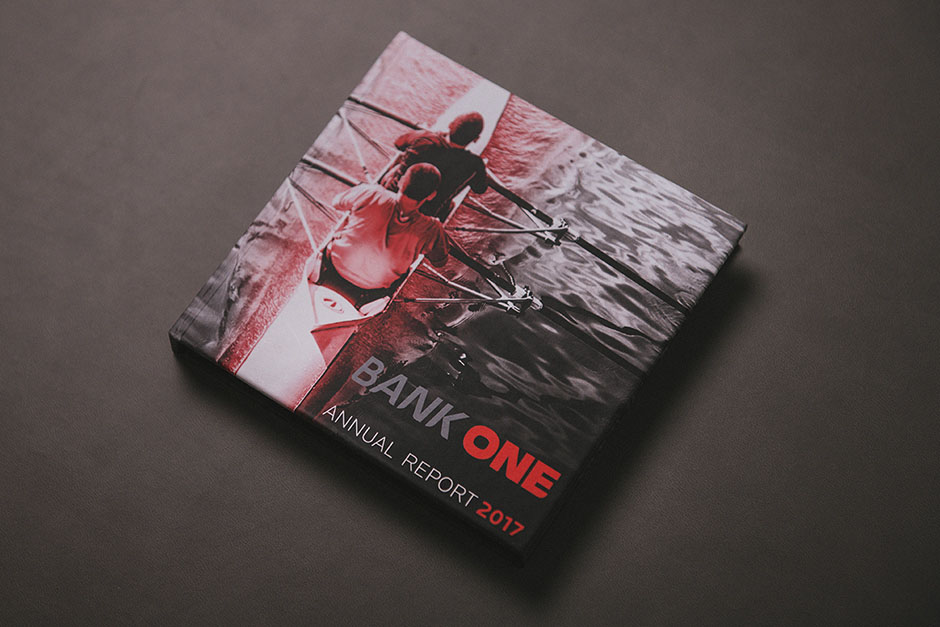Bank One CD case, printed by Précigraph