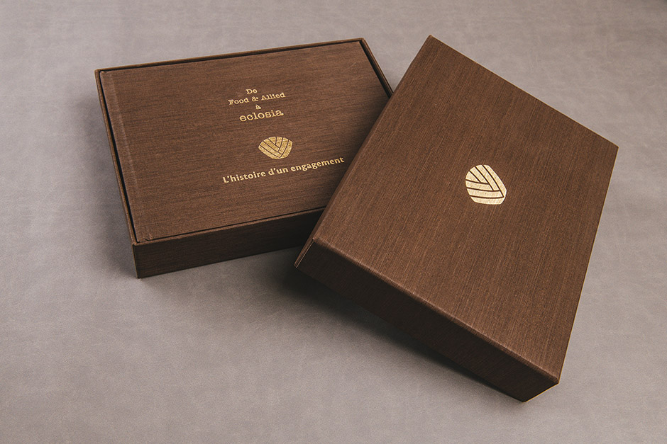 Eclosia packaging, printed by Précigraph