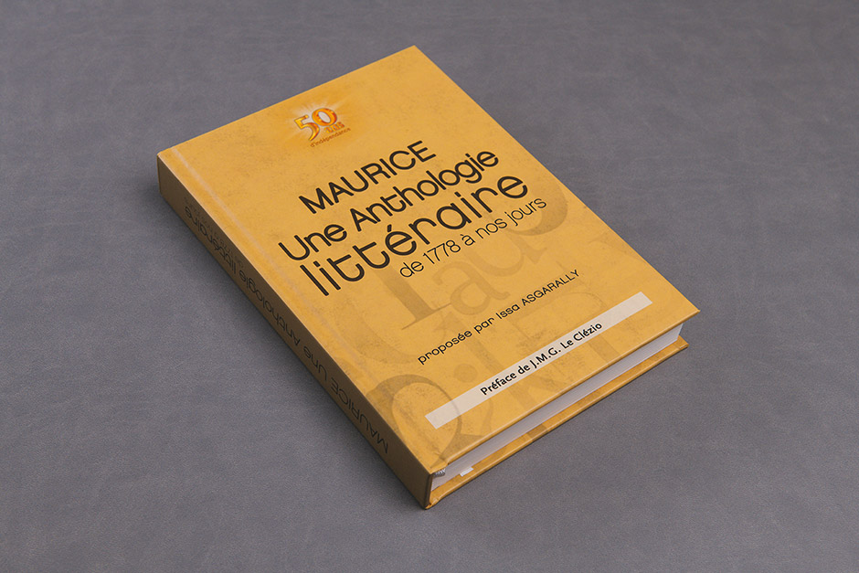 Maurice une Anthologie Littéraire book, Issa Isgarally, printed by Précigraph