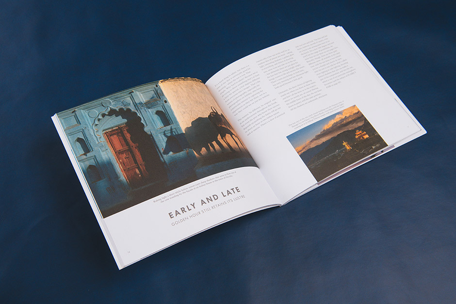 Lux Resorts Photo Inspire brochure, printed by Précigraph