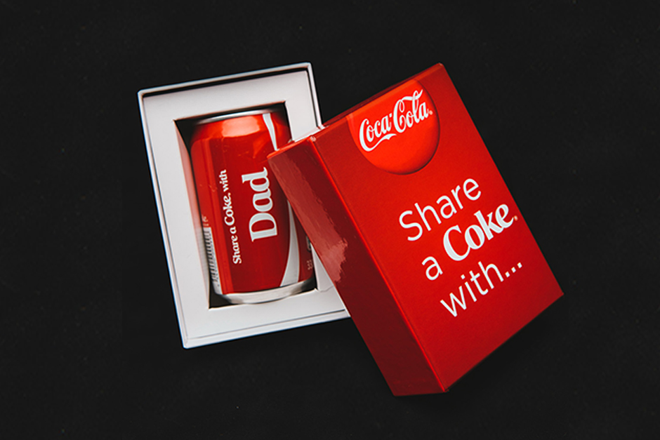 Coke packaging, Phoenix Beverages, printed by Précigraph