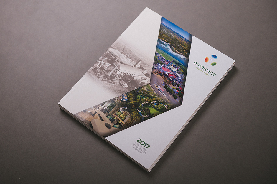 Omnicane Annual Report printed by Précigraph