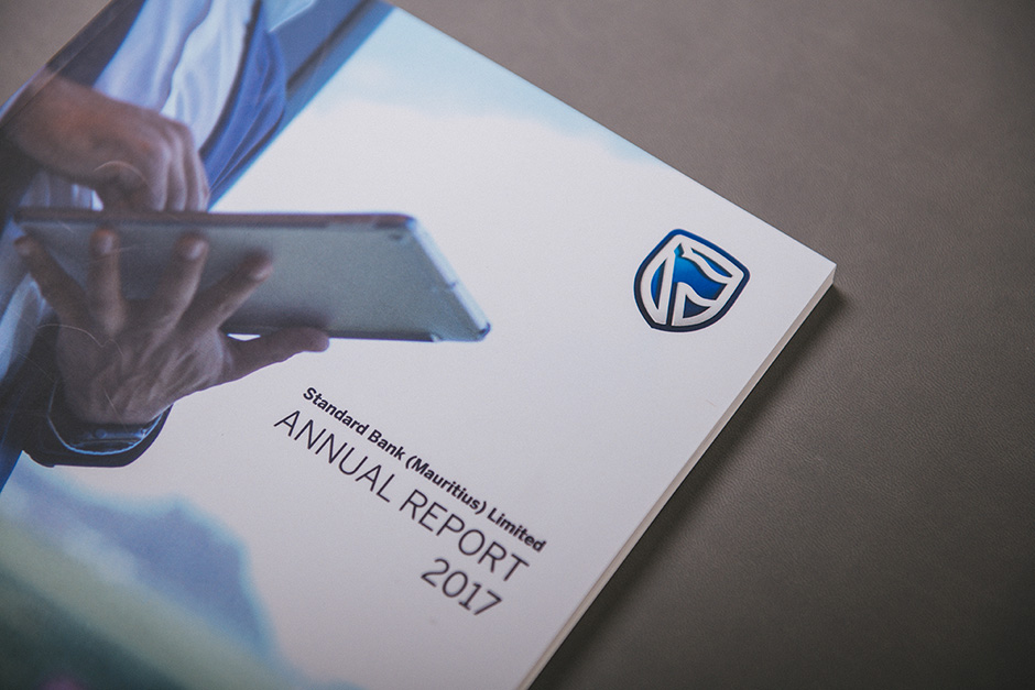 Standard Bank (Mauritius) Ltd Annual Report printed by Précigraph