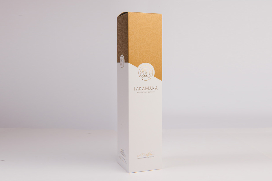 Takamaka packaging, printed by Précigraph